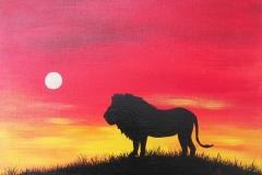 Lion-at-Dusk